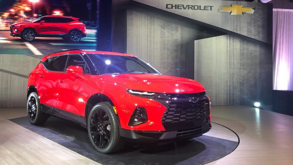 Nova Blazer 2020 2020 Chevrolet Blazer Ss Engine Price