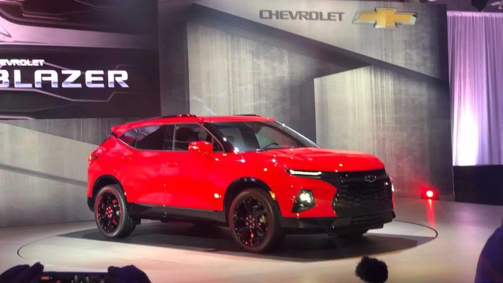 Nova Chevrolet Blazer 2020