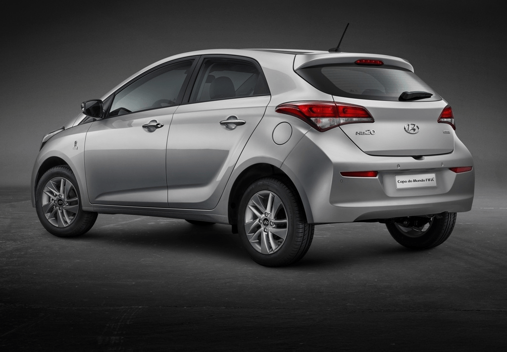 Ficha técnica do Hyundai HB20 2020