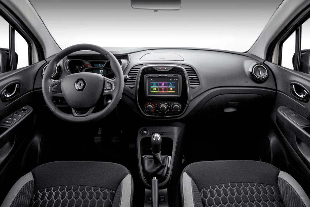 Itens de série do Renault Captur 2020