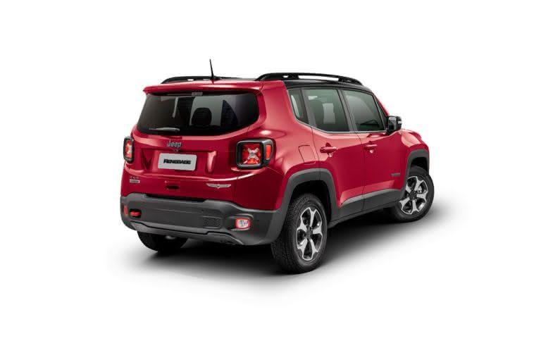 Itens de série do Jeep Renegade