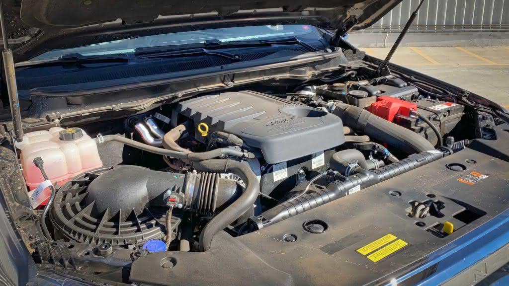 Motorização da Ford Ranger 2020
